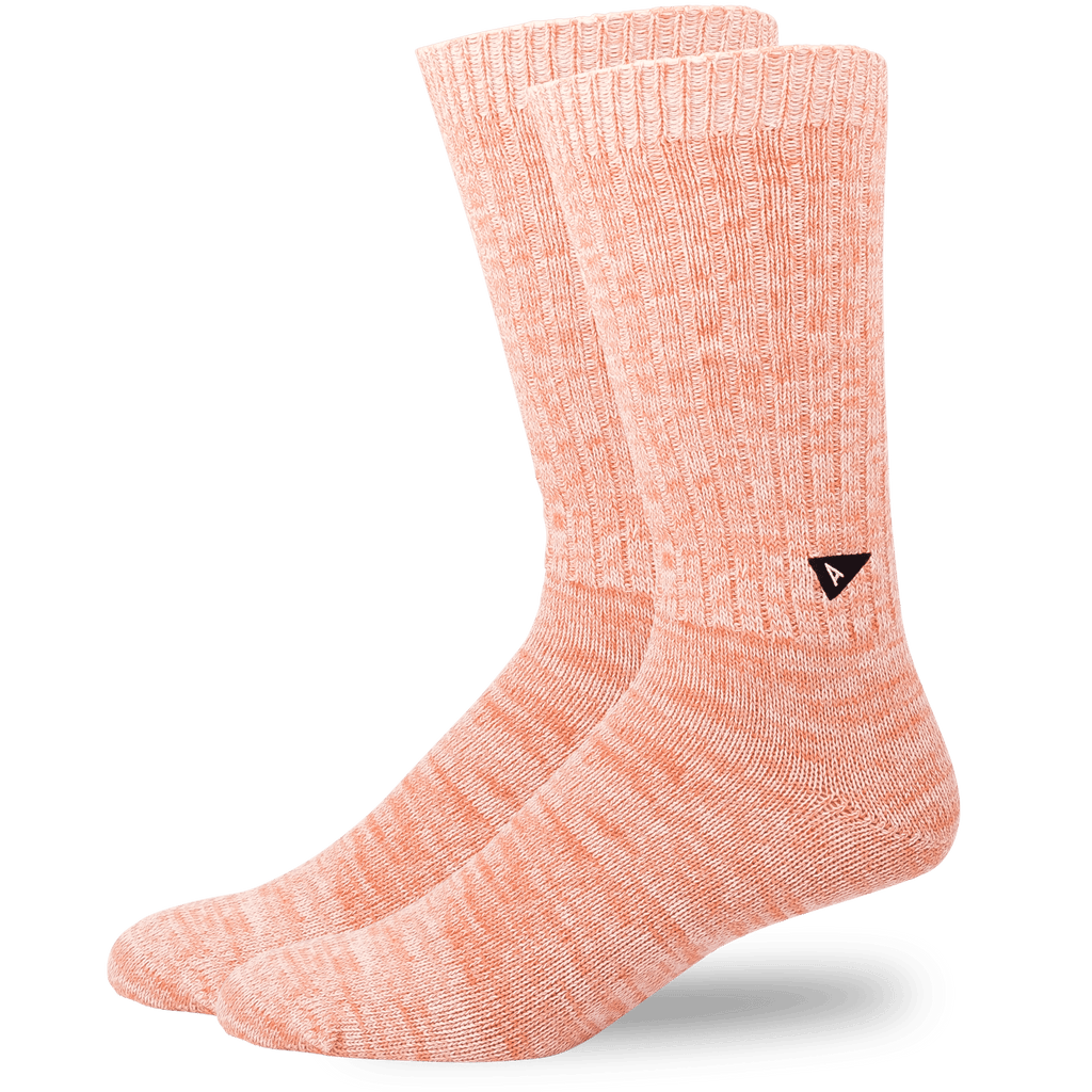 Arvin Goods Casual Twisted Socks - Coral