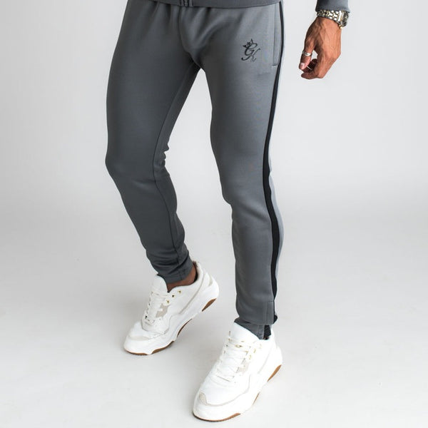 Gym King Basis Poly Joggers - Dark Grey/Black