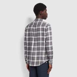 Farah Bushell Casual Fit Check Shirt - Farah Grey