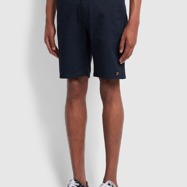 Farah Hawk Twill Chino Short - True Navy