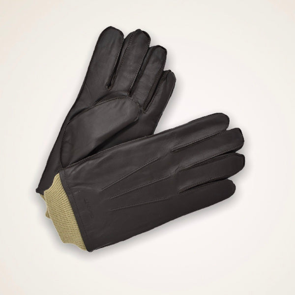 Gant Leather Gloves - Java