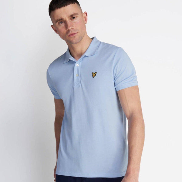 Lyle and Scott Polo Shirt - Pool Blue