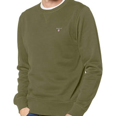 Gant Original C Neck Sweatshirt - Four Leaf Clover