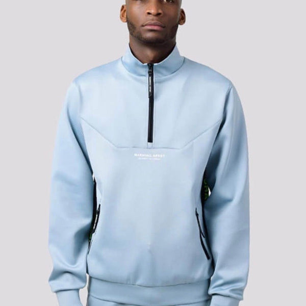 Marshall Artist Cadence Track Top - Quarry Blue