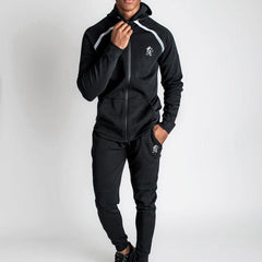 Gym King Khan Tracksuit Top - Black