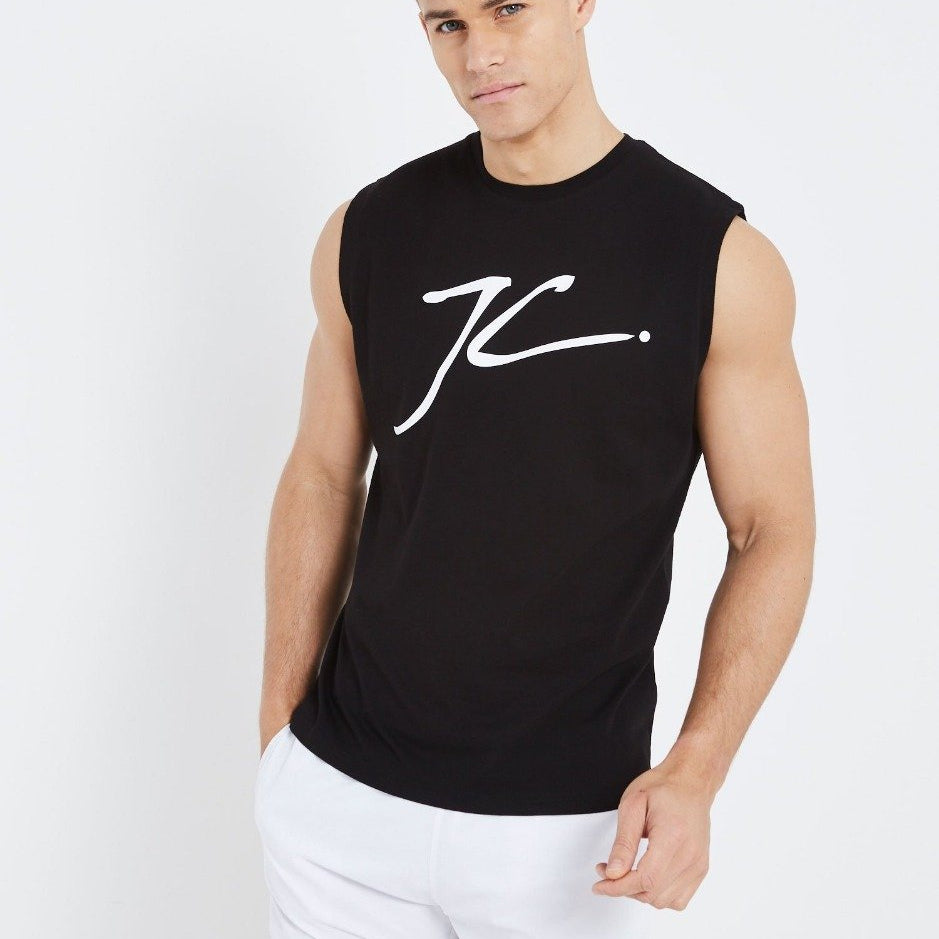 Jameson Carter Sleeveless Tee - Black