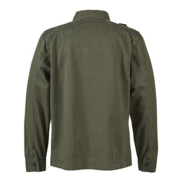 Ma.Strum GD Overshirt - Dark Khaki Green
