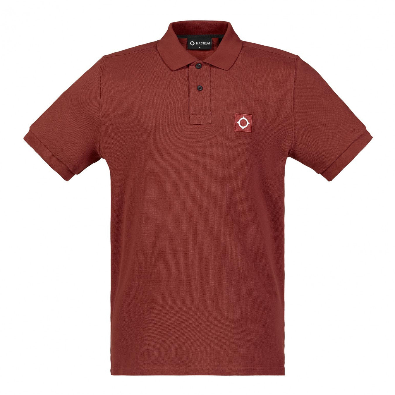 Ma.Strum SS Pique Polo - Burnt Orange