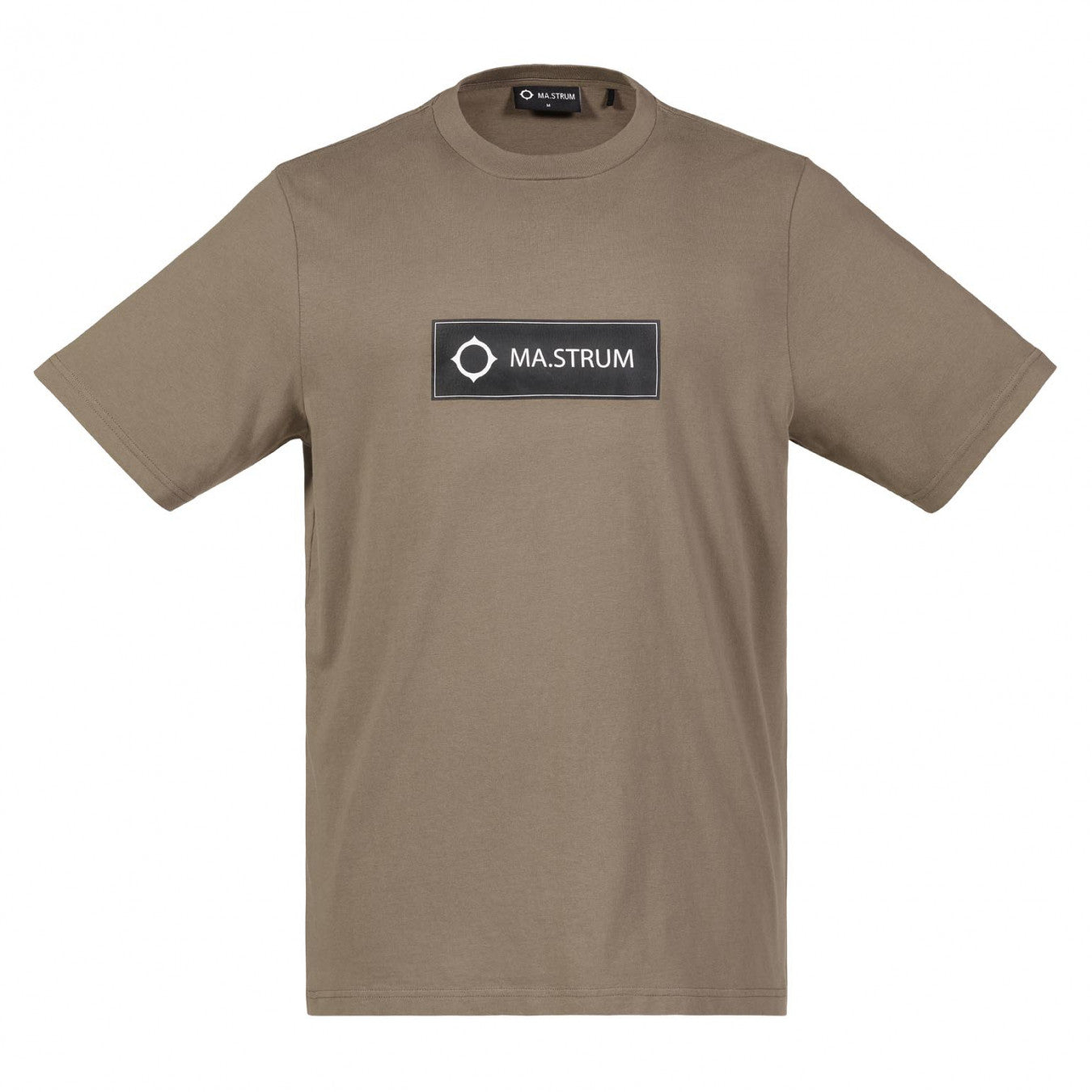Ma.Strum Icon Box Logo Tee - Timber Wolf