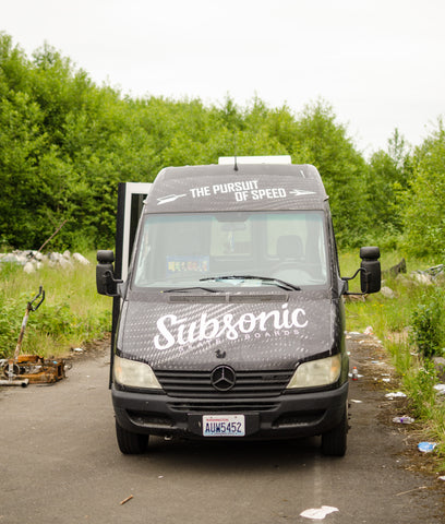 Subsonic skateboards van