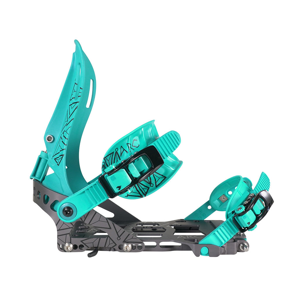 Spark R&D Womens Arc 2021 Binding - Teal/Grey