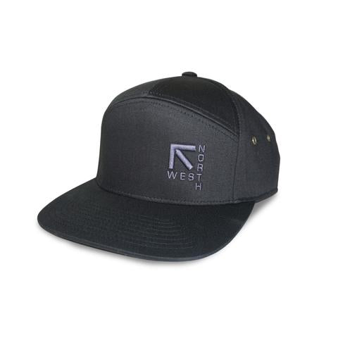 North West Apparel DMB 7 Panel Hat (front)