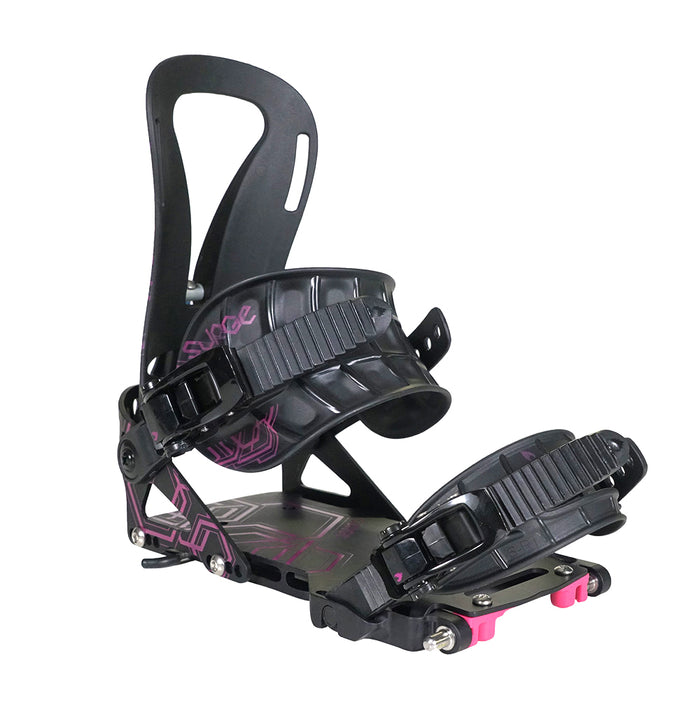 Spark R&D Womens Surge 2021 Binding - Black/Pink