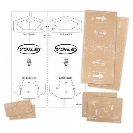Voile DIY Template Sticker Packs