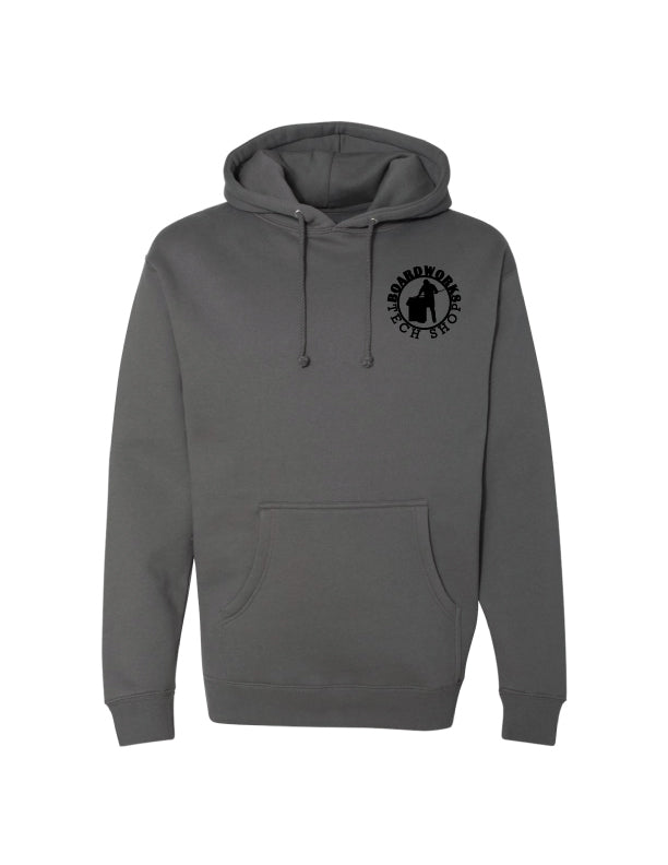BTS Icon Logo Hoodie - Charcoal