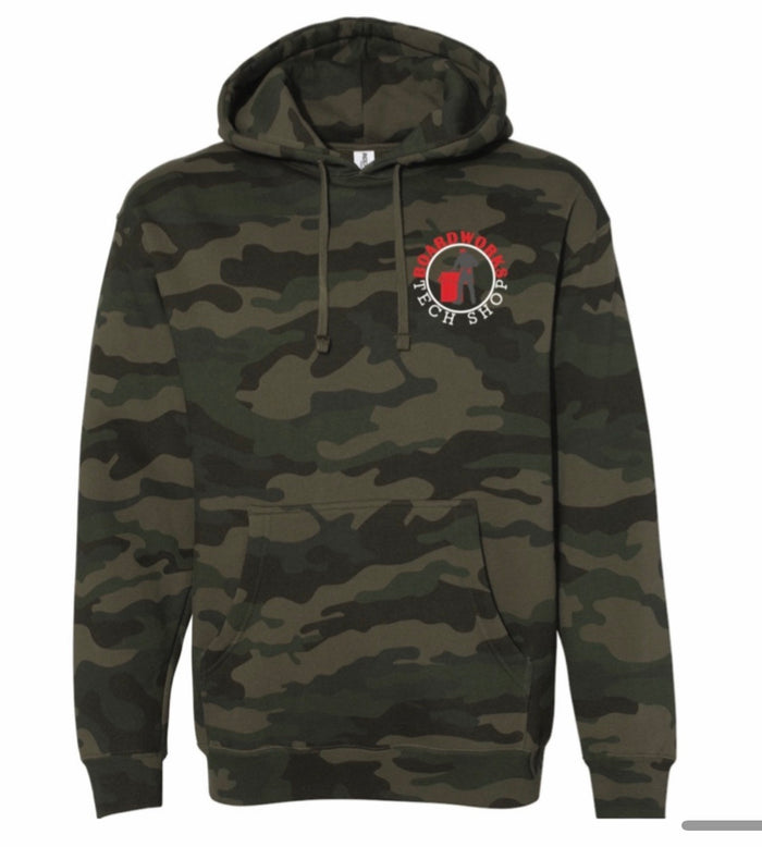 BTS Icon Logo Hoodie - MUTED CAMO