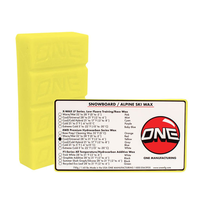 Oneball Bulk 4WD Cool Wax 750G