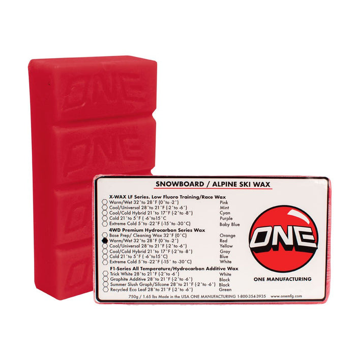 Oneball Bulk 4WD Warm Wax 750G