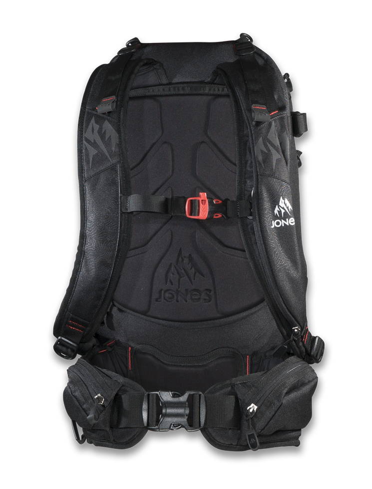 Jones Higher Backpack (back)
