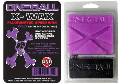 Oneball Snowboard / Ski X-Wax Cold