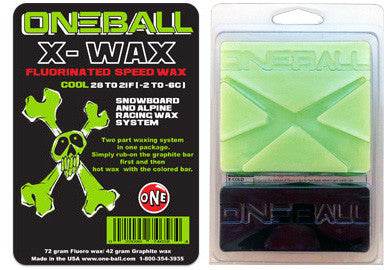 Oneball Snowboard / Ski X-Wax Cool