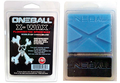 Oneball Snowboard /Ski X-Wax Ice Cold