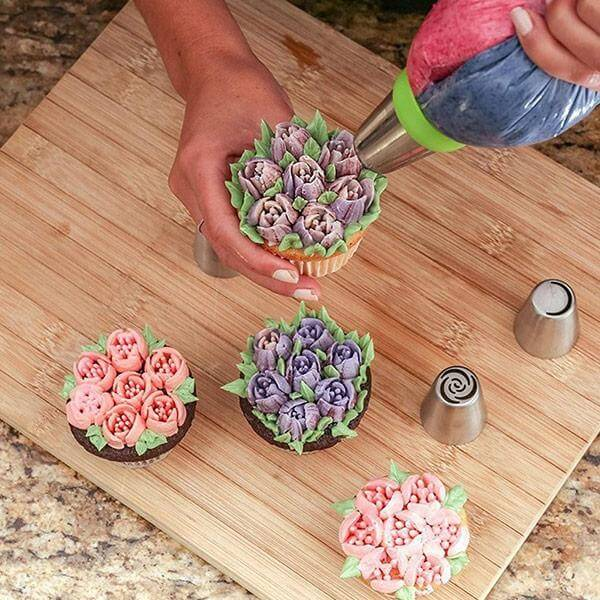 floral icing tips
