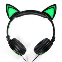 glowing ear headphone