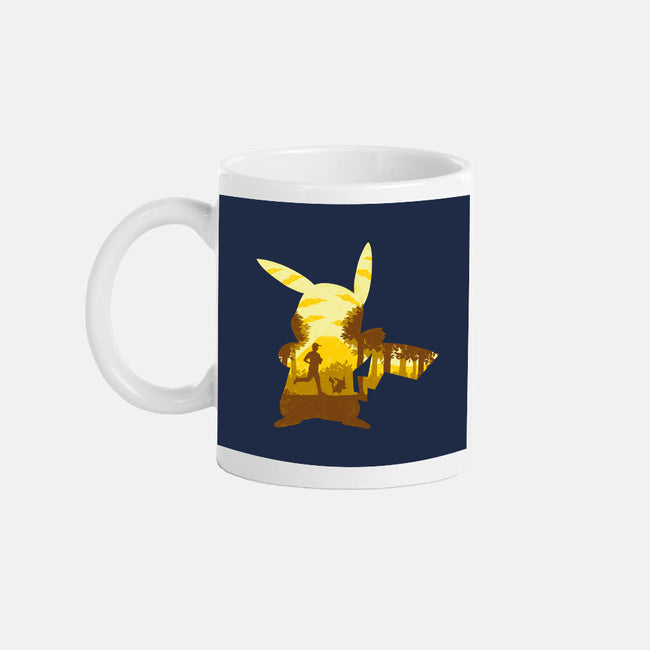 Yellow Companion-none glossy mug-Whitebison
