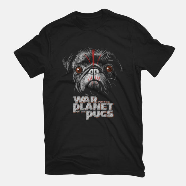 War for the Planet of the Pugs-mens heavyweight tee-bleee