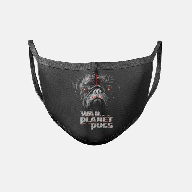 War for the Planet of the Pugs-unisex basic face mask-bleee