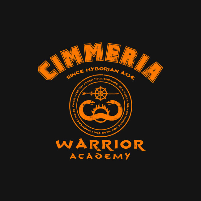 Warrior Academy-none glossy sticker-karlangas