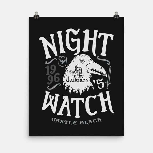 Watchers on the Wall-none matte poster-Olipop