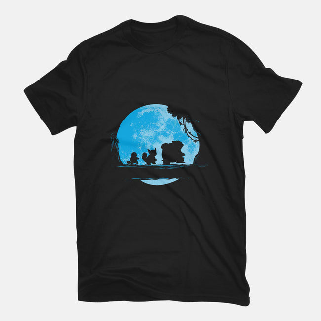 Water Moonwalk-mens heavyweight tee-dalethesk8er