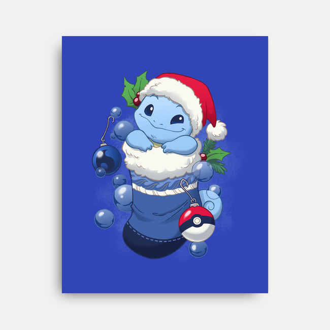 Water Stocking Stuffer-none stretched canvas-DoOomcat
