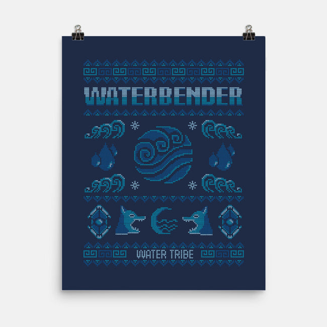 Water Tribe Sweater-none matte poster-Typhoonic