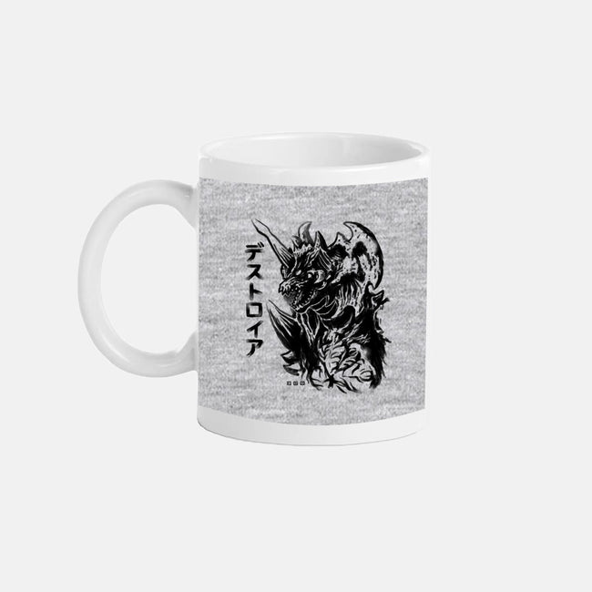 Waterbrushed Space Demon-none glossy mug-cs3ink