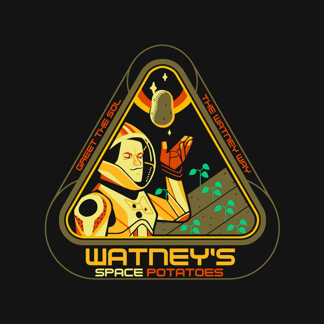 Watney's Space Potatoes-none matte poster-Glen Brogan