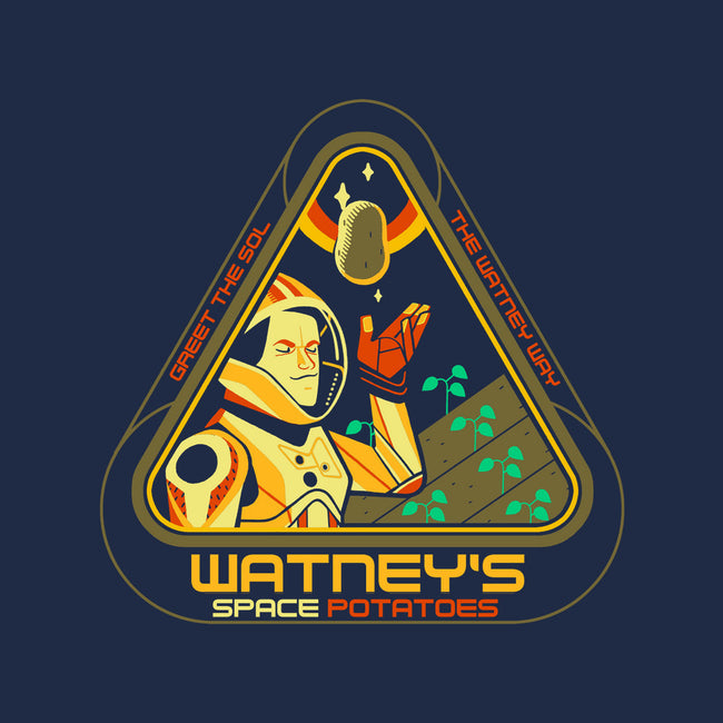 Watney's Space Potatoes-mens heavyweight tee-Glen Brogan