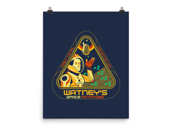 Watney's Space Potatoes