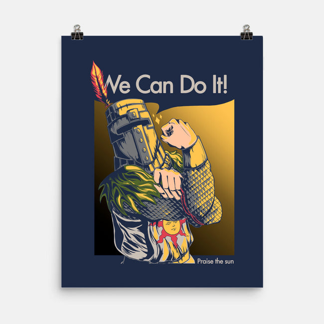 We Can Do It!-none matte poster-NakaCooper