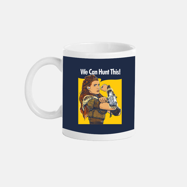 We Can Hunt This!-none glossy mug-rustenico