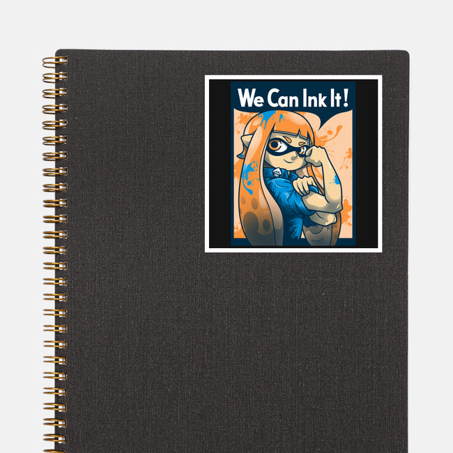 We Can Ink It-none glossy sticker-AutoSave