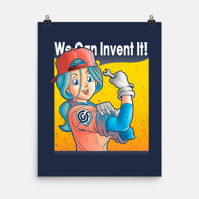 We Can Invent It-none matte poster-trheewood