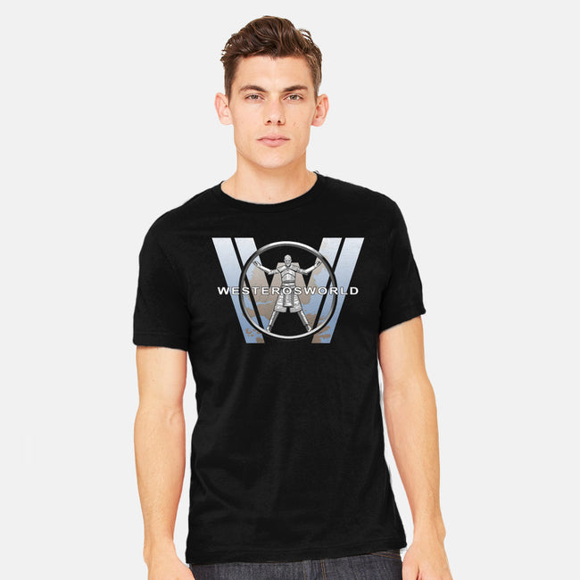 Westeros World-mens heavyweight tee-ladymagumba
