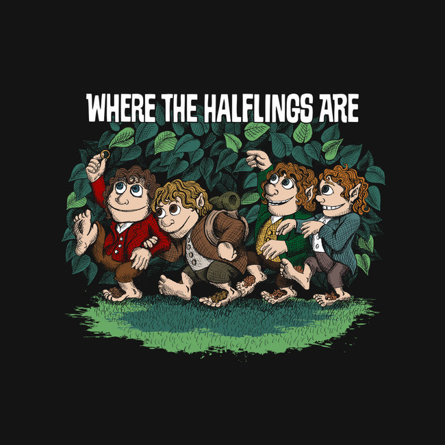 Where the Halflings Are-none matte poster-DJKopet