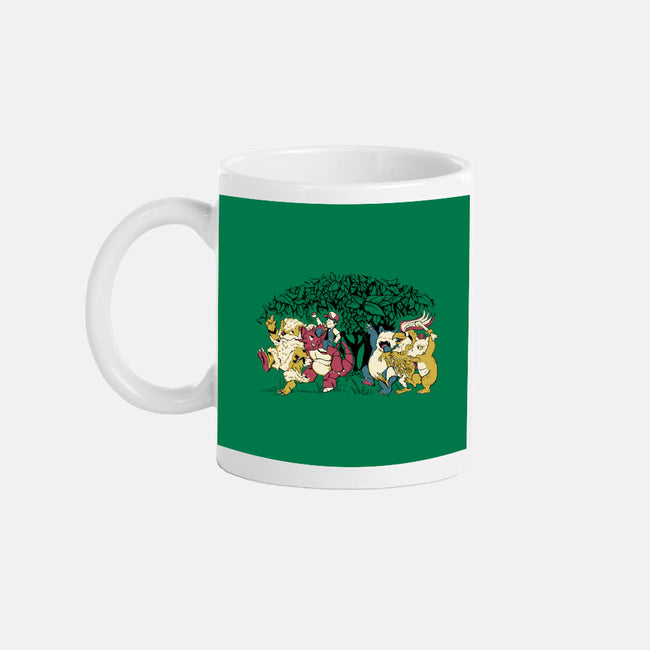 Where the Wild Monsters Are-none glossy mug-Creative Outpouring