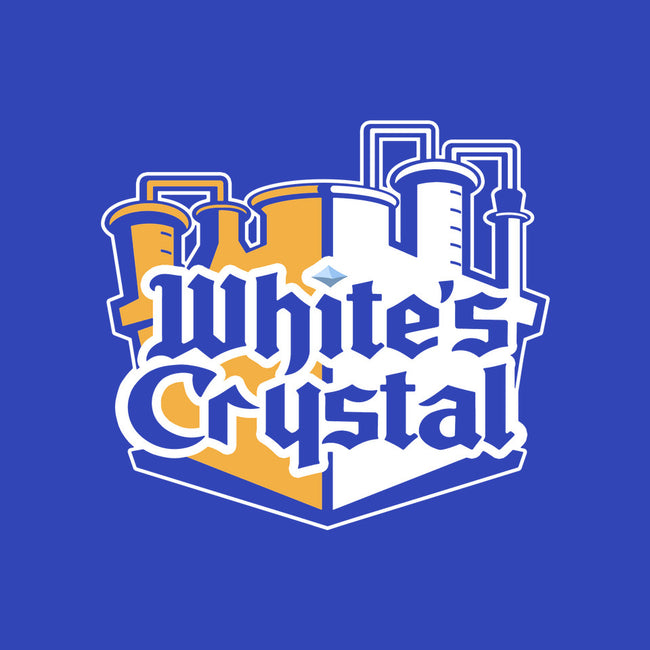 White's Crystal-none glossy sticker-ClayGrahamArt