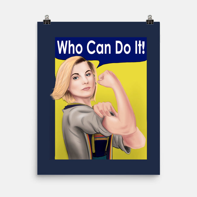 Who Can Do It!-none matte poster-MarianoSan