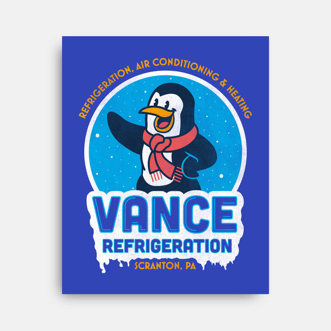 Vance Refrigeration-none stretched canvas-Beware_1984